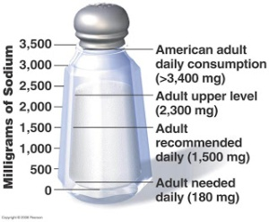 salt in american diet
